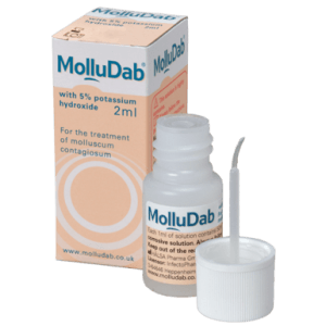 Molludab product and packaging